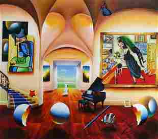 "Ferjo ""MASTERS MUSICAL BEGINNINGS"" Giclee on Canvas"