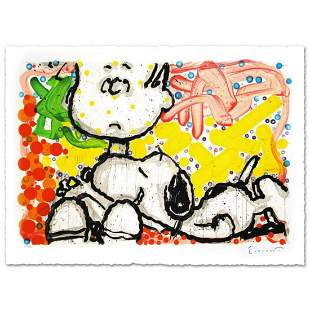 "Tom Everhart- Hand Pulled Original Lithograph ""Super"