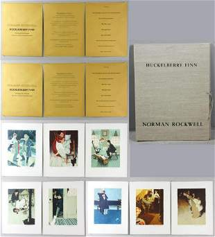 Norman Rockwell (1894-1978) lithograph (Set of 8)