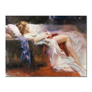 """Pino (1939-2010), """"Sweet Repose"""" Artist Embellished"""