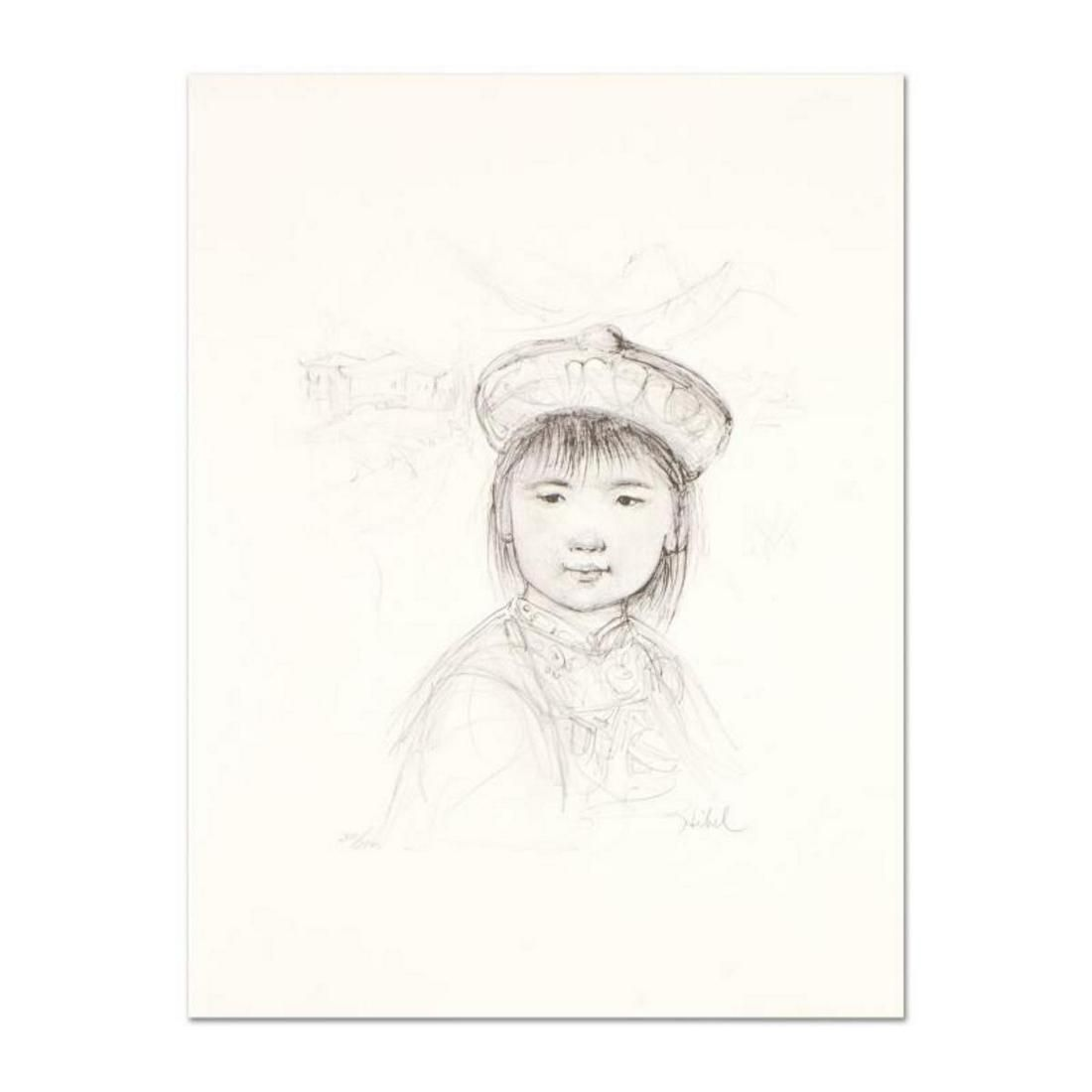 "Edna Hibel (1917-2014), ""Chu Lu"" Limited Edition"