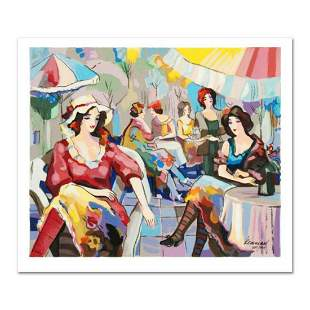 """Michael Kerman, """"Cafe"""" Limited Edition Serigraph,"""