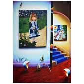 "Ferjo, ""Renoir in Paradise 1"" Original Painting on"