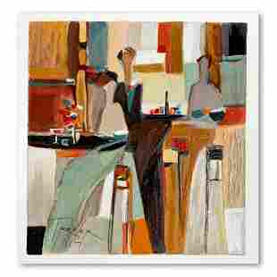 """Yuri Tremler, """"Evening Out"""" Limited Edition Serigraph,"""