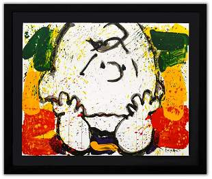 "Tom Everhart- Hand Pulled Original Lithograph ""Call"
