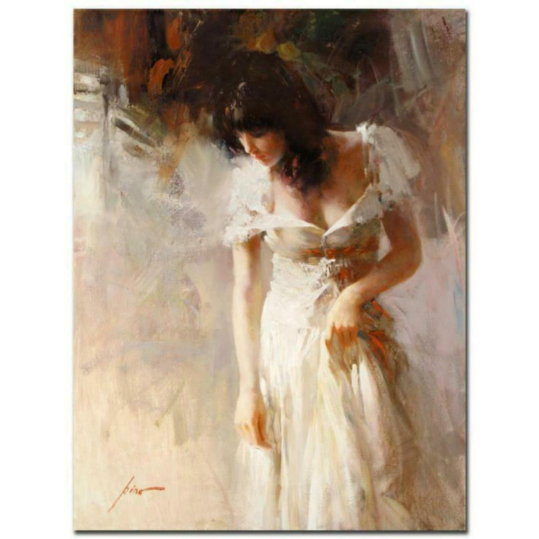 "Pino (1939-2010), ""White Rhapsody"" Artist Embellished"