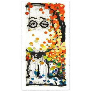 "Tom Everhart- Hand Pulled Original Lithograph ""Beauty"