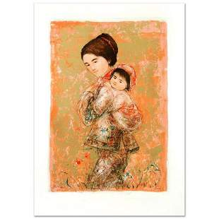 """""""Morning Stroll"""" Limited Edition Lithograph by Edna"""