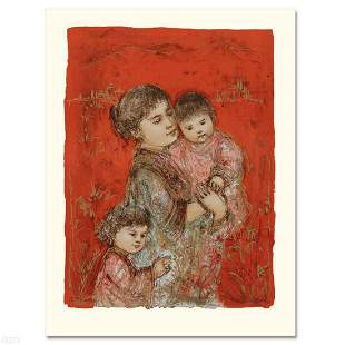 """""""Lorelei and Children"""" Limited Edition Lithograph by"""