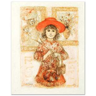 """""""Wendy the Youngest Docent"""" Limited Edition Lithograph"""