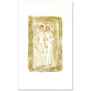 """""""Prelude"""" Limited Edition Lithograph by Edna Hibel"""