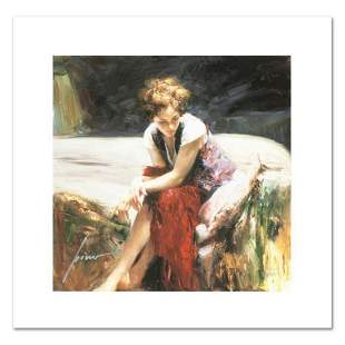 """Pino (1931-2010), """"Whispering Heart"""" Limited Edition on"""