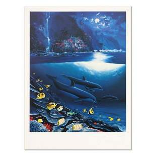 """Wyland, """"Paradise"""" Limited Edition Lithograph, Numbered"""
