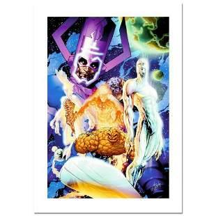 """Stan Lee Signed, """"Fantastic Four #545"""" Numbered Marvel"""