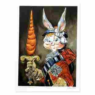 "Chuck Jones ""Bunny Prince Charlie"" Hand Signed Limited"
