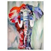 "Alfred Gockel, ""Coloured wildlife"" Hand Signed Limited"