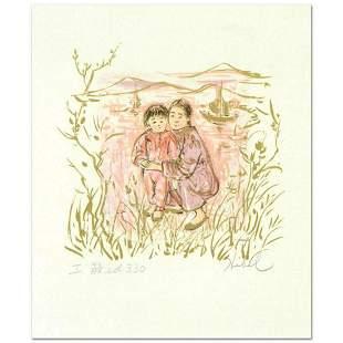 "Edna Hibel (1917-2014), ""Nature Study"" Limited Edition"