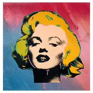 "Steve Kaufman (1960-2010) ""Marilyn Monroe"" Hand Signed"