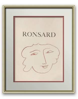 "Henri Matisse Original lithograph on paper ""Florilege"