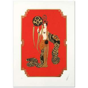 """Erte (1892-1990), """"Bamboo"""" Limited Edition Serigraph,"""