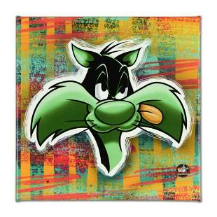 """Looney Tunes, """"Sylvester"""" Numbered Limited Edition on"""