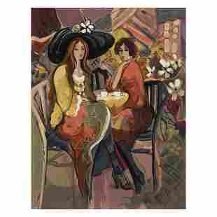 """Isaac Maimon, """"Reunion"""" Limited Edition Serigraph,"""