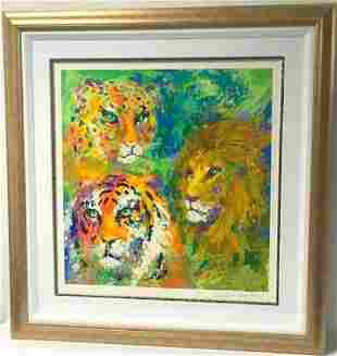 "LeRoy Neiman Serigraph on paper ""Family Portrait"""