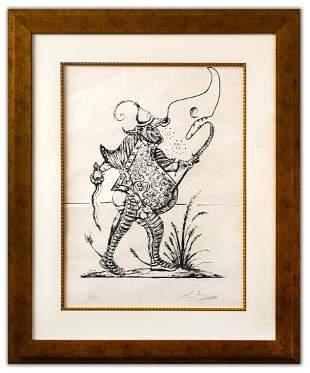 Salvador Dali- Original Lithograph from Gouache and