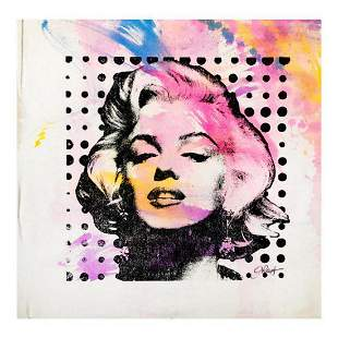 "Gail Rodgers, ""Marilyn Monroe"" Hand Signed Original"