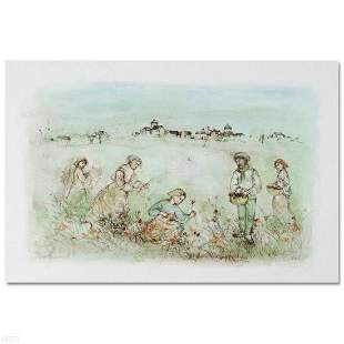 """""""Tuscan Fields"""" Limited Edition Lithograph by Edna"""