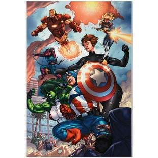 """Marvel Comics """"Avengers #84"""" Numbered Limited Edition"""