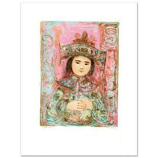 """""""Child of the East"""" Limited Edition Lithograph by Edna"""