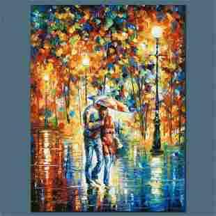"Leonid Afremov (1955-2019) ""Rainy Evening"" Limited"