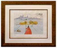 "Salvador Dali- Original Lithograph ""Judah (From Twelve"