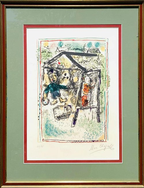 Marc Chagall Paper