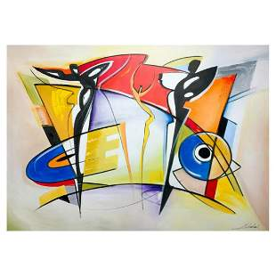 """Alfred Gockel, """"Light my fire"""" Hand Signed Limited"""