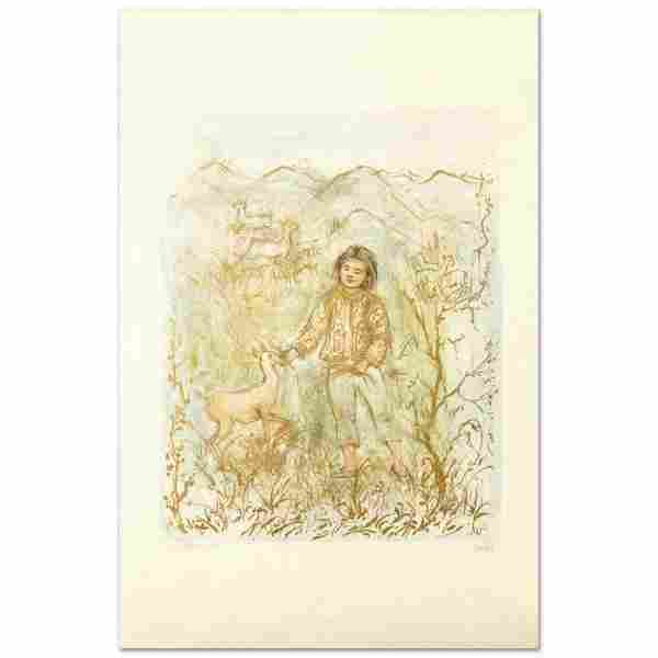 """""""The Forest Friend"""" Limited Edition Lithograph by Edna"""