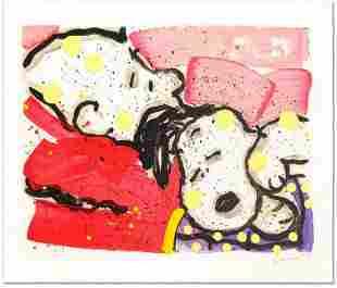 "Tom Everhart- Hand Pulled Original Lithograph ""Mellow"
