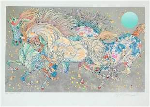 Guillaume Azoulay- Serigraph on paper with hand laid