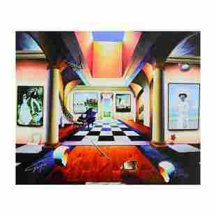 "Ferjo, ""Room of Splendor"" Limited Edition on Canvas,"