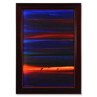 """Wyland, """"Pacific Colors """" Framed Original Oil Painting"""
