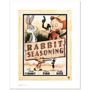 """Rabbit Seasoning"" Limited Edition Giclee from Warner"