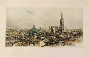Luigi Kasimir (Hungarian/American, 1881-1962) Engraving
