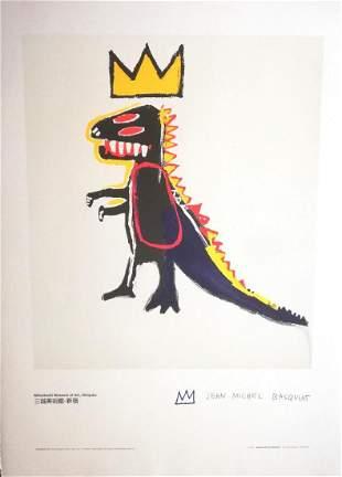 "Jean-Michel Basquiat Original lithograph PAPER ""PEZ"