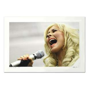 "Rob Shanahan, ""Christina Aguilera"" Hand Signed Limited"