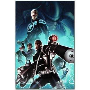 "Marvel Comics ""Secret Warriors #8"" Numbered Limited"