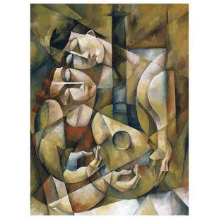 """Yuroz, """"Lover's Serenade"""" Hand Signed Limited Edition"""