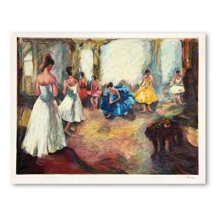 """Hedva Ferenci, """"Audition"""" Hand Signed Limited Edition"""