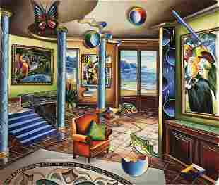 "Alexander Astahov- Original Giclee on Canvas ""Homage to"
