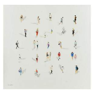 Lior Yahav, Limited Edition on Canvas, Numbered Inverso